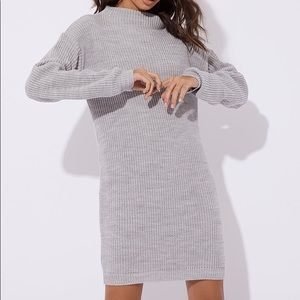 MISSGUIDED NWT SWEATER DRESS SIZE 4